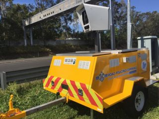 Police Speed Camera Trailer