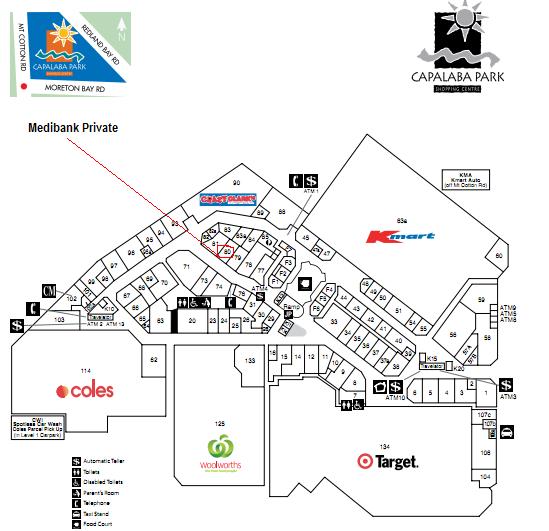 Medibank Private Capalaba 13 2331 Brisbane Bayside