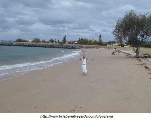 Raby Bay Beach at Cleveland, Queensland